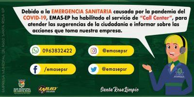 EMASEP CALL CENTER